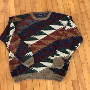 VINTAGE Northern Isles handknit crewneck sweater